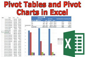 Excel Create Chart From Pivot Table Create Pivot Tables Pivot Charts Graphs In Microsoft Excel