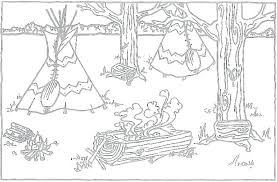 Native American Coloring Page Native Coloring Pages Printable Native