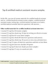 Resume 123 Org Free 64 Resume Samples Best Of Resume Samples Free Certified Medical Assistant Sample Skills