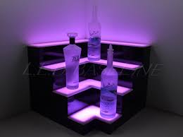 home mood lighting. corner lighted bar shelf decor back mood lighting home