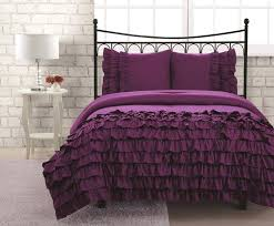 grey ruffle bedding set comforter sets ruffled bedspread bedspreads twin size bed white ruffle bedding twin