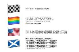 Flag Emoji Chart Emoji Flags Explained