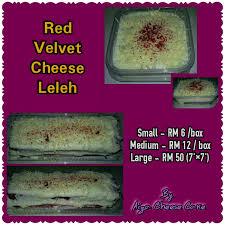 Lagi Snow Cheese Cake New Red Velvet Cheese Aiza Home