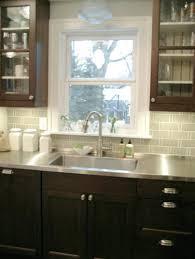 backsplash tile patterns kitchen eclectic with sacks custom image by marble