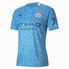Man City Home Replica Men's Jersey | Team Light Blue-Peacoat | PUMA  Football Clubs