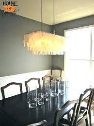 west elm capiz light fixture my west elm shell chandelier in someone gray dining room i west elm capiz chandelier
