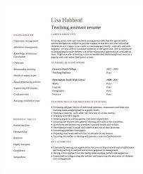 Preschool Teacher Assistant Resume resume sample for teacher assistant topshoppingnetwork 39