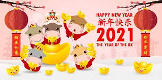 It's all about the chinese new year and introduces fresh content that revolves around chinese culture and festivity. Happy Chinese New Year 2021 Little Ox And Lion Dance Holding Chinese Gold Ingots The Year Of The Ox Zodiac Cute Cow Cartoon Calendar Isolated Translation Ha Chinese New Year Greeting