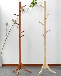 Wooden Coat Rack Stand 100% Oak hatrack Wooden coat rack stand 100cm100 wood hook coat rack 25