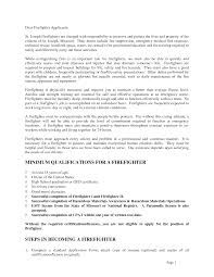 Firefighter Resume Tips Fire Fighter Resumes Oklmindsproutco