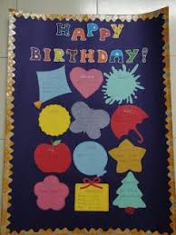 Creative Charts For School My Handmade Cards Birthday Chart For My Classroom
