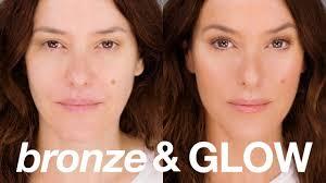 instant bronze glow beauty makeup