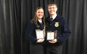 Siblings Take on Public Speaking at National Convention | National FFA  Organization