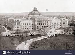 La Biblioteca del Congresso di Washington D.C., Stati Uniti d'America,  visto qui c.1911, è ora noto come Thomas Jefferson Building. Dalle  meraviglie del mondo, pubblicato c.1911 Foto stock - Alamy