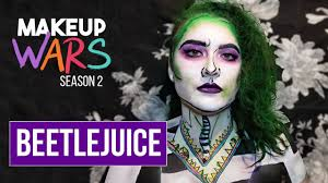 beetlejuice makeup tutorial makeup wars season 2