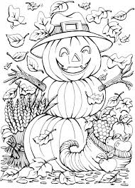 6 Fall Coloring Pages Stamping