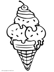 Small Picture 64 ICE CREAM coloring pages