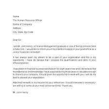 Business Letter Format Cover Letter Resume Directory