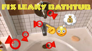 how to fix a leaky bathtub most common leaks around bathtub quick fix hd review