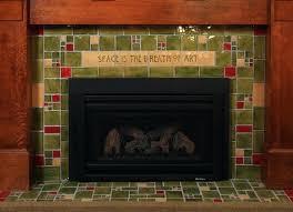 unique arts and crafts tile fireplace surround arts crafts fireplace tile surround tools and tiles