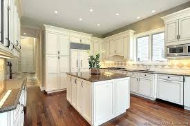 full size of nice floor warm colors bad like the granite counters antique white kitchen cabinets