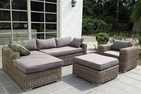 wicker furniture. Interesting Wicker Evergreen Wicker Furniture  Sectional Sofa Rattan Patio  Outdoor Set Intended