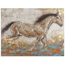running horse art pier 1 imports