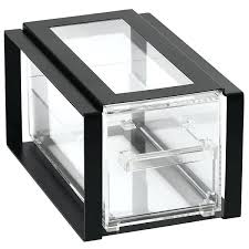 home improvement antique glass bread box