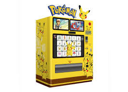 Game Vending Machines Cool Japan Now Has Pokémon Vending Machines