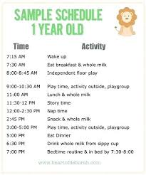 Daily Routine Chart For 10 Year Old Baby Routine Template Dietetica Info