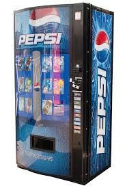 Vendo Vending Machine New Vendo VMax V48P Multi Price Soda Beverage Vending Machine Pepsi