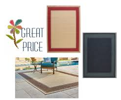hampton bay 5 ft x 7 ft indoor or outdoor area rugs only 39 97 free pick up