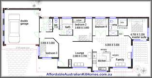 Modern 4 Bedroom House Plans Four Bedroom House Plans Home Design Ideas
