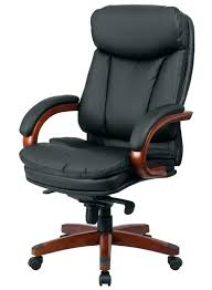 amazing wood finish leather chair best office chairs within desk white awesome elegant tan id