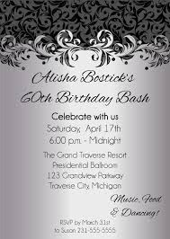 Adults Birthday Invitations Templates Wording Party Joint Business