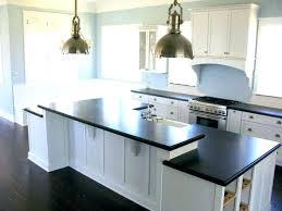 white cabinets grey countertop dark marble and tile black countertops floor