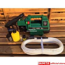 Máy rửa xe tự hút Zukui S1 - 2000W - (Osaka 2000W) - Tặng bình phun xà bông  - Máy xịt rửa và phụ kiện