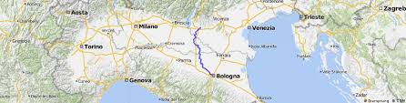 Book tickets now on 12goasia! Verona To Bologna Bikemap Your Bike Routes