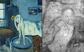 pablo picasso s the blue room reveals portrait of mystery man telegraph