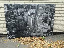 Gerahmtes Wandbild 200x140 New York 5th Avenue