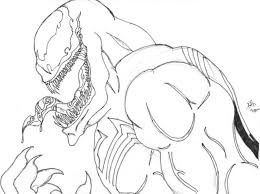 Small Picture Coloring pages Venom printable for kids adults free