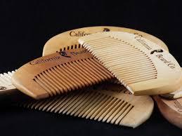 beard comb pile california beard company