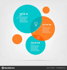 Infographic Venn Diagram Bubble Chart With Elements Venn Diagram Infographics For