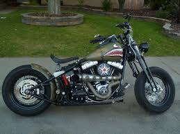 custom 2009 crossbones bobber harley davidson forums
