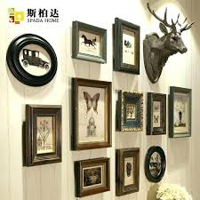10 picture collage frame wall collage frame set high end luxury style vintage home decor photo