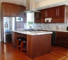 Dark Kitchen Dark Kitchen Cabinets With White Island