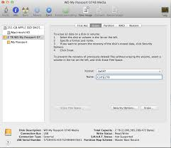 how to format wd my passport ultra for mac and windows how to format an external hard drive for both mac pc windows use