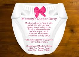 Diaper Shower Invitation Insanely Cute And Amazing Diaper Party Ideas