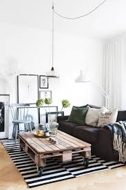 Living Room: White Industrial Living Room - Industrial Decoration