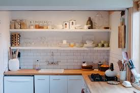 Kitchens With Open Shelving Kitchen How Regret Kitchen Open Shelving Standard
